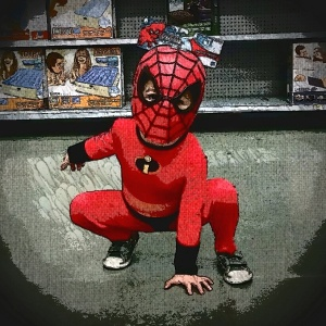 the Incredible Spiderman spotted at Walmart